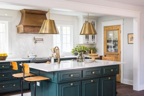 Incredible Colorful Kitchen Ideas 08