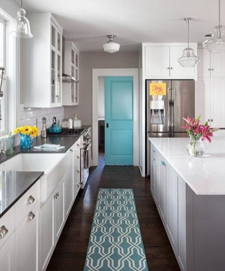 Incredible Colorful Kitchen Ideas 27