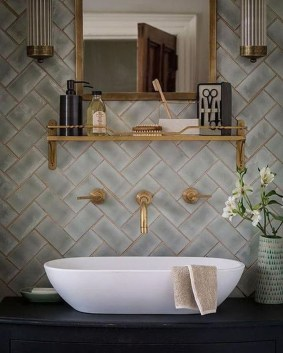 Lovely Eclectic Bathroom Ideas 14