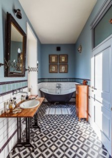 Lovely Eclectic Bathroom Ideas 47