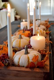 Modern Diy Fall Centerpiece Ideas For Your Home Decor 07