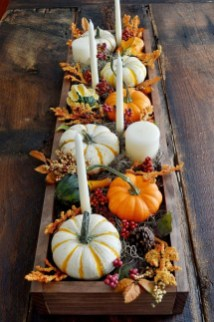 Modern Diy Fall Centerpiece Ideas For Your Home Decor 19