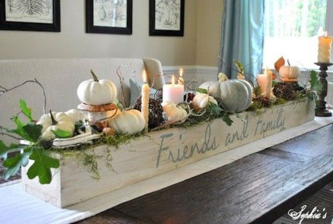 Modern Diy Fall Centerpiece Ideas For Your Home Decor 22