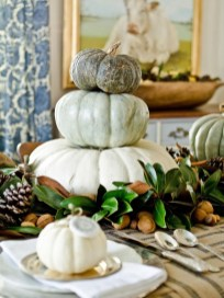 Modern Diy Fall Centerpiece Ideas For Your Home Decor 27
