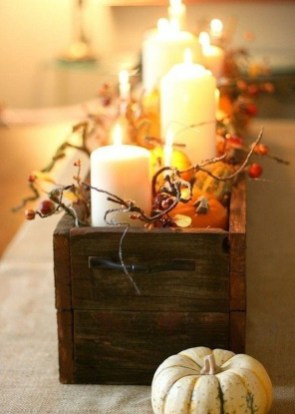 Modern Diy Fall Centerpiece Ideas For Your Home Decor 30
