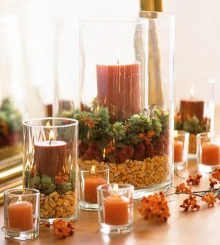 Modern Diy Fall Centerpiece Ideas For Your Home Decor 40