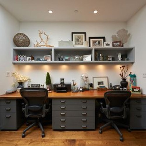 Modern Ikea Office Design Ideas 11