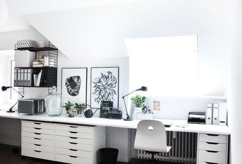 Modern Ikea Office Design Ideas 12