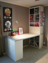Modern Ikea Office Design Ideas 18