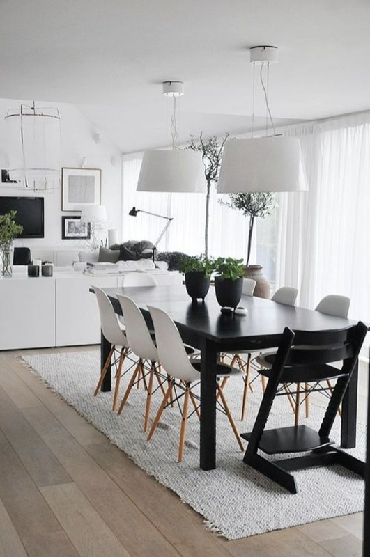 Stylish Beautiful Dining Room Design Ideas 15