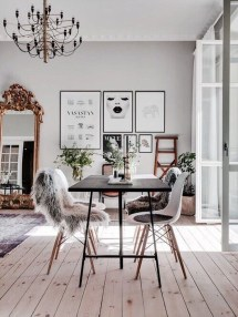 Stylish Beautiful Dining Room Design Ideas 29