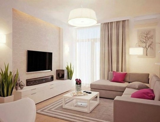 The Best Beige Living Room Design Ideas 18