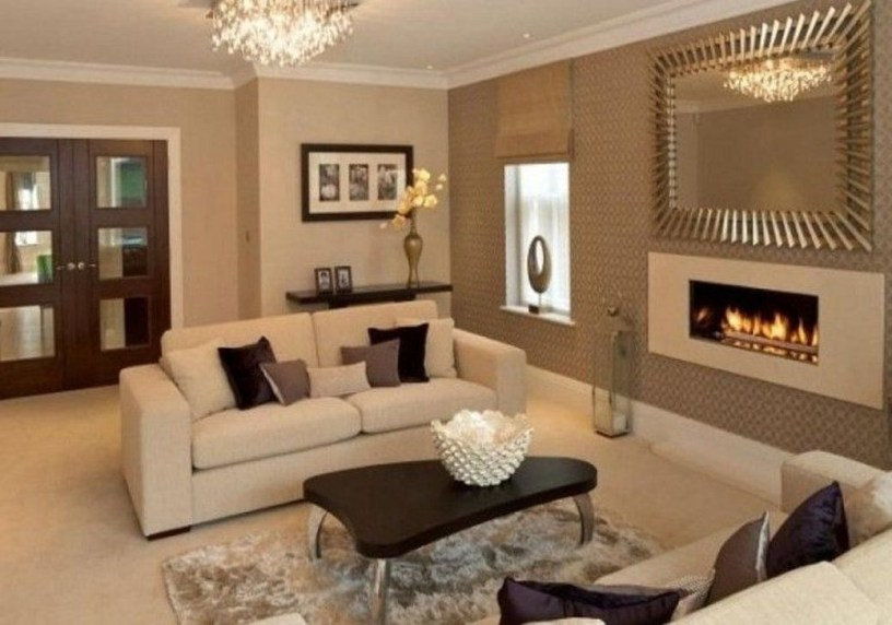 The Best Beige Living Room Design Ideas 26