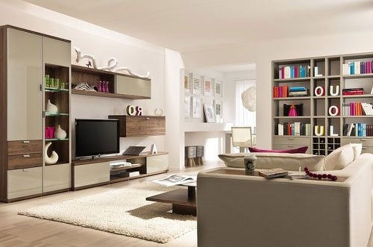 The Best Beige Living Room Design Ideas 53