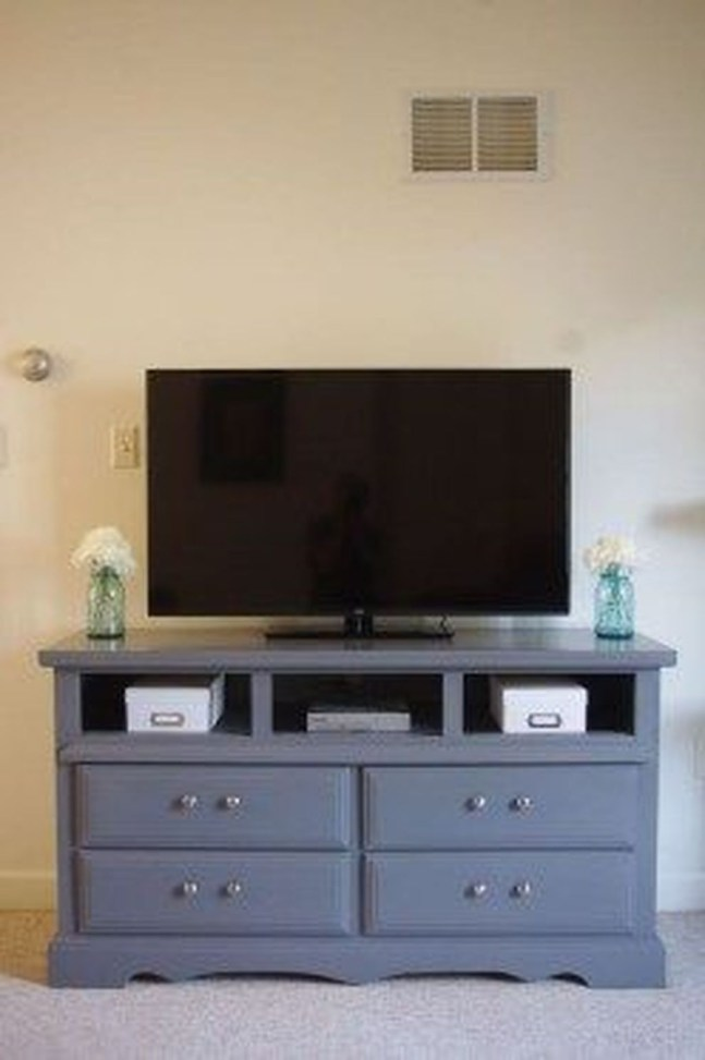 Cozy Minimalist Farmhouse Tv Stand Ideas 23