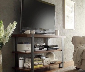 Cozy Minimalist Farmhouse Tv Stand Ideas 25