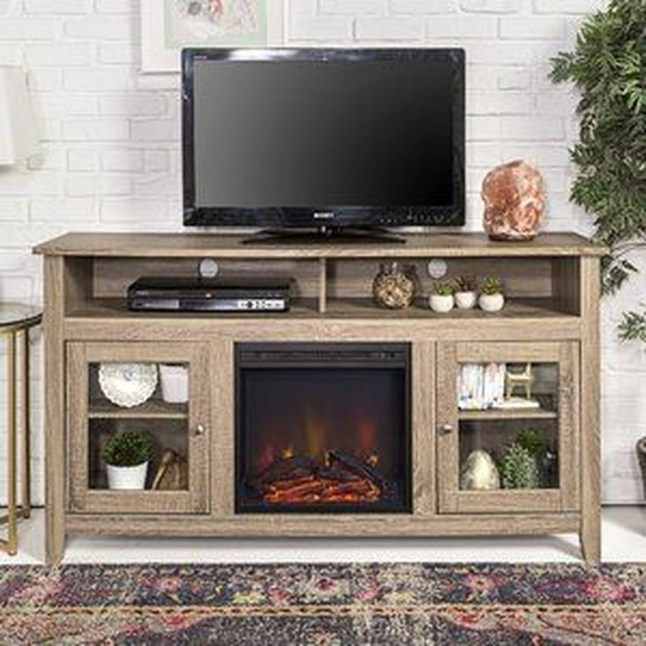 Cozy Minimalist Farmhouse Tv Stand Ideas 30