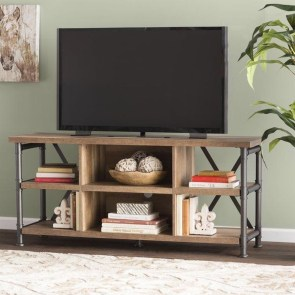 Cozy Minimalist Farmhouse Tv Stand Ideas 40