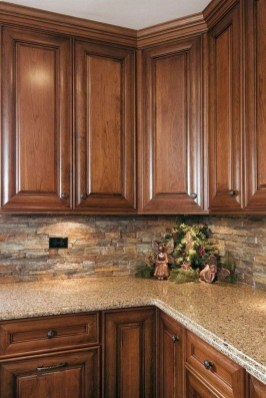 Cute Farmhouse Kitchen Backsplash Ideas 15