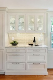 Cute Farmhouse Kitchen Backsplash Ideas 51