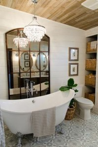 Lovely Farmhouse Bathroom Accessories Ideas 19