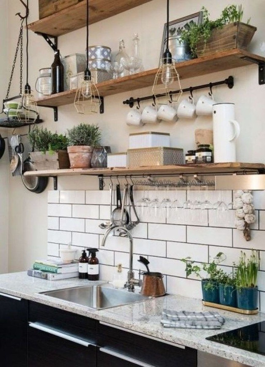 Magnificient Rustic Country Kitchen Ideas To Renew Your Ordinary Kitchen 22