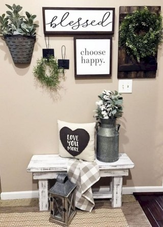 Popular Rustic Country Home Decor Ideas 07