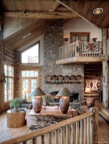 Popular Rustic Country Home Decor Ideas 47