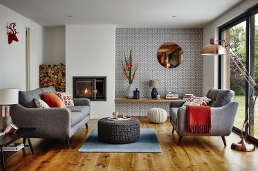 Simple Modern Living Room Decorations Ideas 40