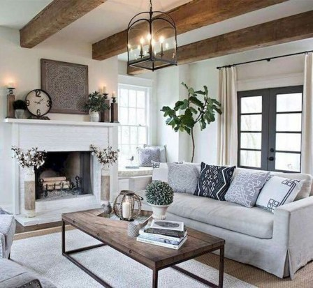 Simple Modern Living Room Decorations Ideas 47