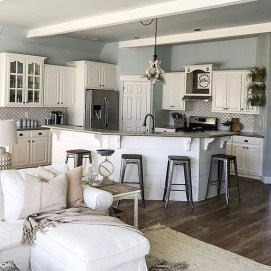 Stunning Farmhouse Kitchen Color Ideas 32