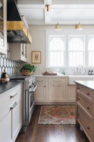Stunning Farmhouse Kitchen Color Ideas 40