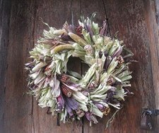 Stylish Fall Wreaths Ideas With Corn And Corn Husk For Door 14