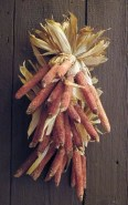 Stylish Fall Wreaths Ideas With Corn And Corn Husk For Door 47