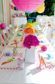 Wonderful Party Table Decorations Ideas 31