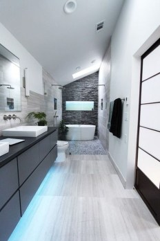 Adorable Contemporary Bathroom Ideas To Inspire 27