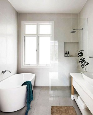 Adorable Contemporary Bathroom Ideas To Inspire 51