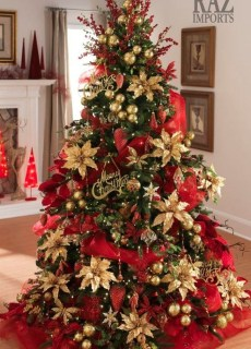 Amazing Gold Christmas Decoration Ideas 51