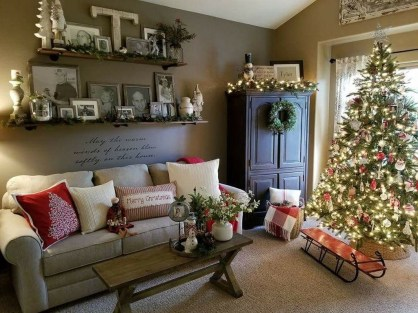 Awesome Country Christmas Decoration Ideas 20