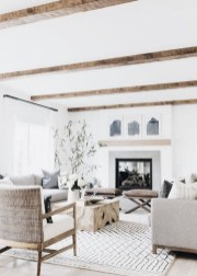 Awesome French Farmhouse Living Room Design Ideas 38