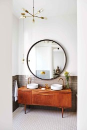 Beautiful Bathroom Mirror Ideas You Will Love 02