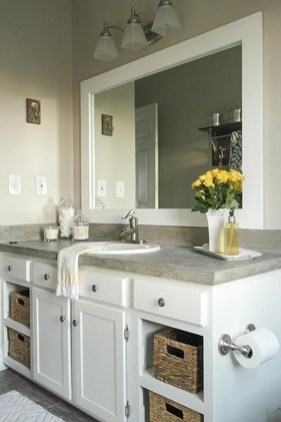 Beautiful Bathroom Mirror Ideas You Will Love 45