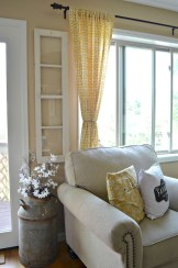 Cheap Farmhouse Curtains For Living Room Decorating Ideas 10