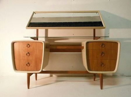 Cozy Mid Century Dressing Tables Vanities Ideas 10