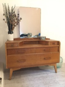 Cozy Mid Century Dressing Tables Vanities Ideas 34