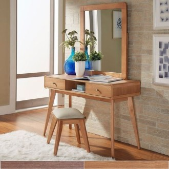 Cozy Mid Century Dressing Tables Vanities Ideas 48
