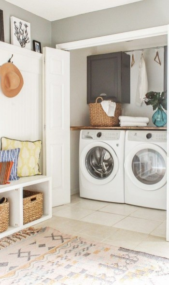 Impressive Bohemian Laundry Room Ideas To Inspire You 10