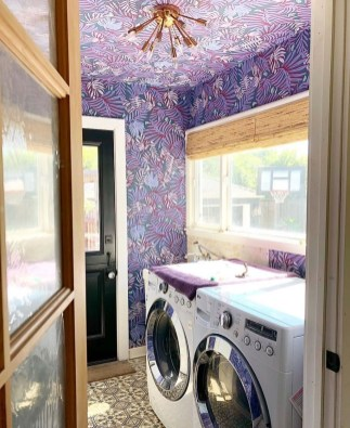 Impressive Bohemian Laundry Room Ideas To Inspire You 38