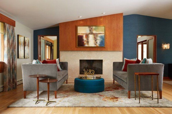 Incredible Mid Century Modern Living Room Decor Ideas 39