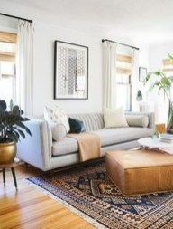 Incredible White Walls Living Room Design Ideas 05